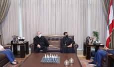 الحريري التقى المطران نجم وعرض معه أوضاعا وشؤونا عامة