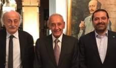 مصادر للجريدة: اولى نتائج لقاء الحريري جنبلاط تجاوز احالة ملف قبرشمون للمجلس العدلي