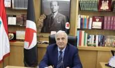 سعد تلقى إتصالات من بري وعددا من الوزراء مهنئين بإنتخابه رئيسا للحزب القومي