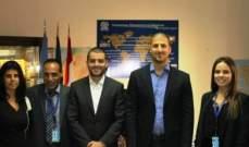 المرعبي وفتفت تابعا مع المسؤولين في منظمة الهجرة في الامم المتحدة موضوع التهريب غير الشرعي