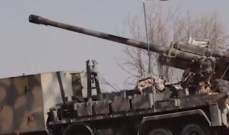 الجيش السوري يستهدف تحركات المسلحين بريفي حماة وادلب