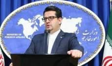موسوي: رد إيران على أي عدوان صهيوني سيكون ساحقا وباعثا على الندم