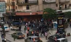 سقوط امرأة فلسطينية من الطابق الرابع من احدى الابنية في جبل البداوي