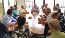 اتحادا نقابات عمال الجنوب وفلسطين عرضا قضية عمل الفلسطينيين