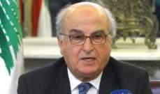 عصام سليمان مهنئا طنوس مشلب: أعدنا للمجلس الدستوري مكانته وثقة المواطنين به