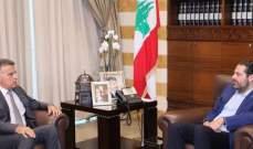 الحريري عرض مع اللواء ابراهيم آخر المستجدات السياسية