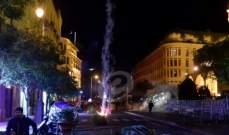 احراق بعض الخيم التي تعود إلى المتظاهرين في ساحة الشهداء