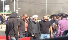 المفتي زغيب من اعتصام دورس: مطالب الشعب محقة