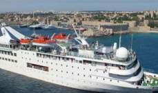 """شركة """"أبومرعي كروز"""": الباخرة أورينت كوين تبحر منذ العام 2005 دون أي حادث بسيط"""