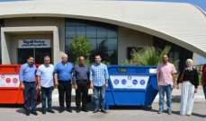 قمرالدين سلم منقارة مفاتيح حاويات استكمالا لمشروع فرز النفايات من المصدر بطرابلس