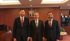 """فؤاد أيوب يلتقي المدير العام للمنظمة العالمية للملكية الفكرية """"WIPO"""""""