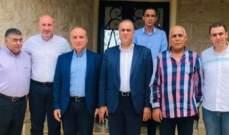 محمد سليمان هنأ رئيس بلدية ذوق حدارة: لضرورة انماء عكار