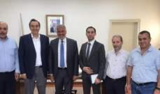 مكتب الخدمات المركزي بحركة امل زار مدير عام كهرباء لبنان وبحث معه خطته للكهرباء