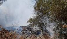 الدفاع المدني: إخماد حريق شب في اعشاب واشجار في بيت شاما