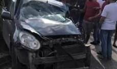 الدفاع المدني: 3 جرحى جراء حادث سير بين شاحنة وسيارة في برج الشمالي- صور