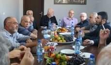 الفصائل الفلسطينية في صور تدين القرار الاميركي الذي يسرع الاستيطان