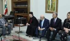 الرئيس عون عرض للتحضيرات لانتقاله الى المقر الرئاسي الصيفي ببيت الدين