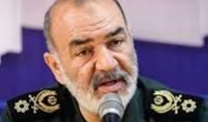 """قائد الحرس الثوري: أميركا تعلم أن هجمات آرامكو نفذها """"انصار الله"""""""