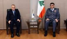 اللواء عثمان التقى طرابلسي والسفير الهندي وعرض معهما للأوضاع العامة