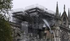 مشروع لبناء كنيسة مؤقتة من خشب نوتردام المحترق