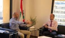 وزير البيئة تلقى دعوة رسمية لزيارة هولندا للبحث في سبل التعاون في المجال البيئي