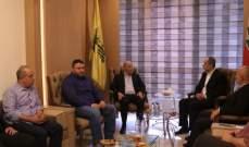 """وفد قيادي من حركة """"أمل"""" زار قيادة """"حزب الله"""" ببيروت"""
