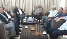حسن حب الله استقبل وفدا قياديا من قوى التحالف الفلسطيني