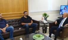 فنيانوس عرض مع أحمد الحريري كافة المستجدات الراهنة في البلاد