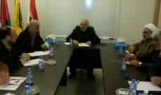 لجنة دعم المقاومة في فلسطين اكدت صلابة محور المقاومة وقوته