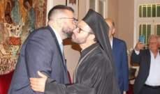 أحمد الحريري زار الرهبنة الشويرية وتجمع موارنة ورئيس بلدية جونيه