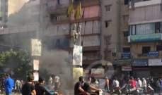 انفجار إطار جرافة في حي السلم وسماع دويه في أحياء الضاحية الجنوبية
