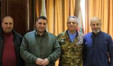 قائد القطاع الغربي لليونيفيل زار إتحاد بلديات بنت جبيل