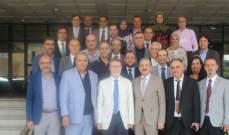 أيوب استقبل وفدًا من مستشفى الزهراء - مركز طبي جامعي برئاسة يوسف فارس