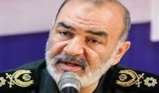 قائد الحرس الثوري: على الأعداء أن يضعوا بحساباتهم اقتدار إيران الذي اتسع نطاقه