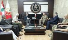 قائد الجيش التقى سفير اسبانيا وعرض معه علاقات التعاون