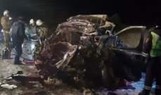 6 قتلى بانحراف حافلة عن مسارها جنوبي روسيا