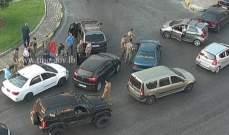 التحكم المروري: جريح نتيجة حادث صدم محلة الصالومي باتجاه الحايك