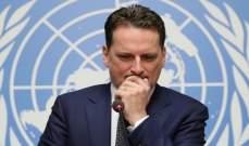 """المفوض العام لـ """"الأونروا"""" يتنحّى بسبب التحقيق معه في قضايا إدارية"""
