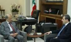 الرئيس عون بحث مع أبو فاعور وصحناوي الاوضاع في لبنان