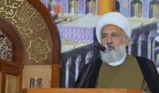 الشيخ الخطيب نوه بمواقف قائد الجيش: الجيش ضمانة لحفظ الوطن وشعبه