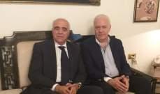 القصيفي زار رئيس مجلس القضاء الأعلى مهنئا: الصحافة والقضاء لا يتناقضان