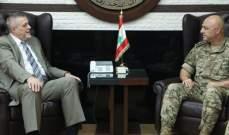 قائد الجيش إلتقى كوبيش وسفير المغرب ووفدا من جامعة الـNDU