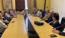 وفد من لقاء بعلبك الثقافي والإنمائي عرض مع رئيس بلدية بعلبك موضوع المولدات الكهربائية