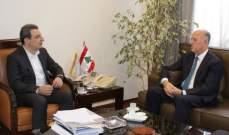 ابو فاعور عرض مع ريفي امورا صناعية وبيئية تخص طرابلس والشمال