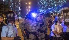 شرطة هونغ كونغ تعثر على مصنع محلي للمتفجرات وتعتقل 3 أشخاص على صلة به