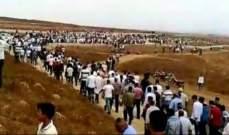تشييع الصاطم في وادي خالد وتجمع أبناء العشائر العربية دعا الى التحلي بالوعي