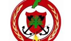 الدفاع المدني أخمد حريق أعشاب يابسة في عوكر