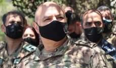 قائد الجيش: مستمرون بأداء مهامنا بدقة وحرفية لضبط الأمن وحماية الاستقرار