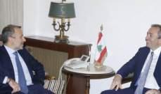 باسيل التقى سفراء بريطانيا وقبرص والنروج والاتحاد الأوروبي
