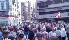 مسيرة راجلة من المناطق الشعبية جابت شوارع طرابلس